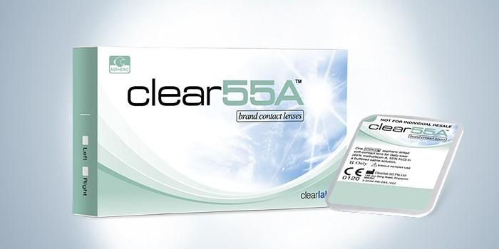 линзы Clear 55A