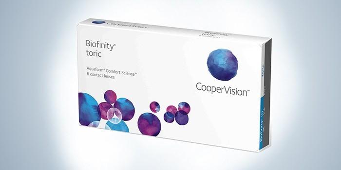 линзы Biofinity от CooperVision