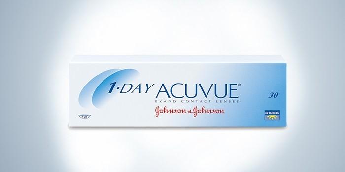 линзы 1-day acuvue Moist